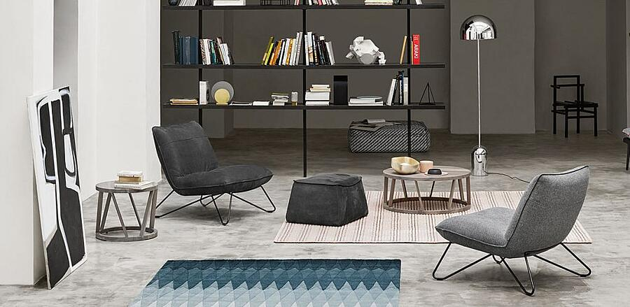 an elegant yet comfortable armchair for any spot in the house