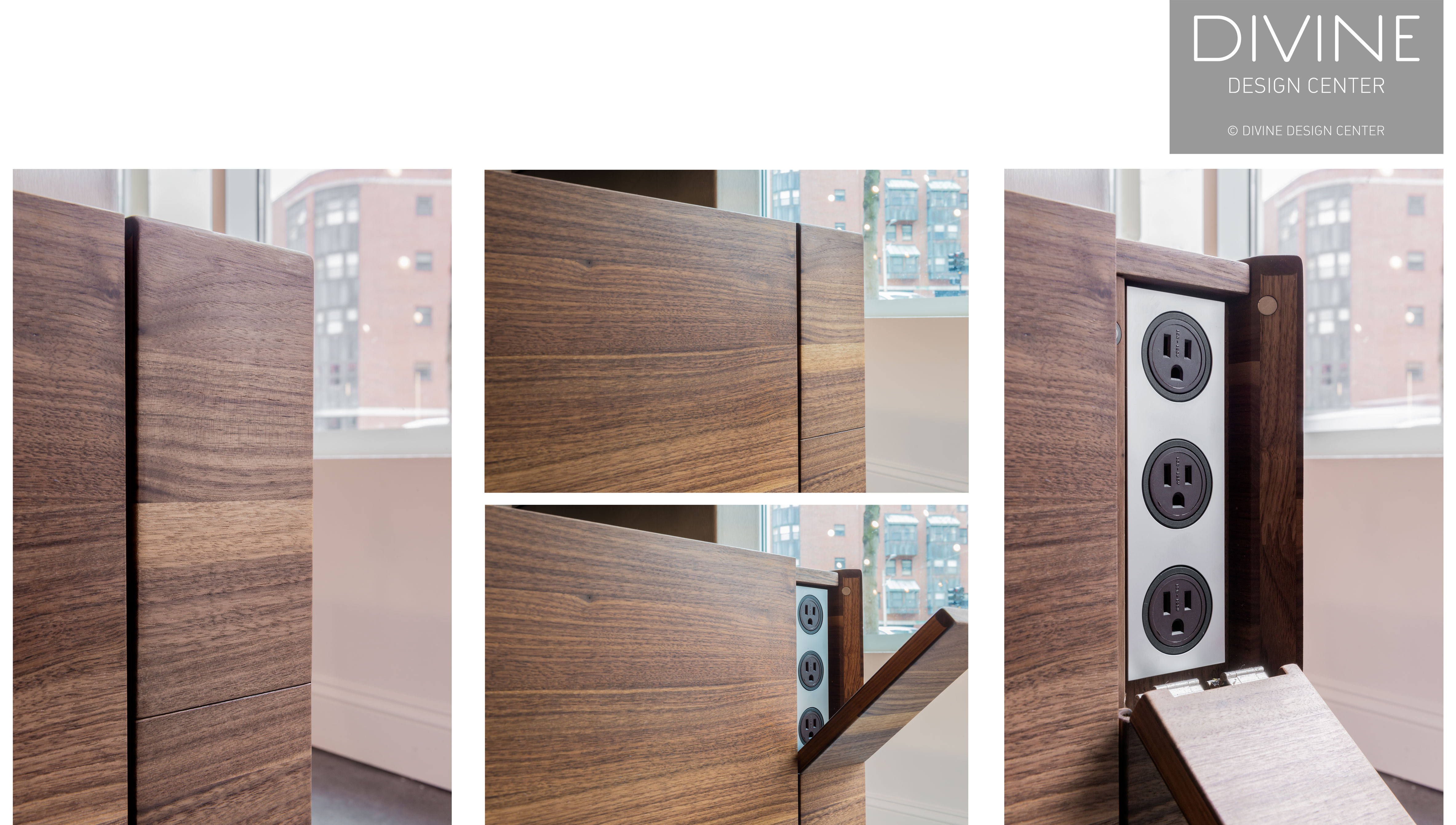 divine design center, boston, massachusetts, team7, team7 special outlets, outlets, modern outlets, modern kitchen, kitchens, dark wood cabinets, dark wood, modern, design, kitchen design