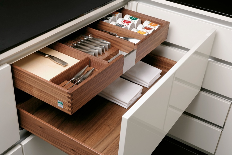 pullout drawers within a drawer