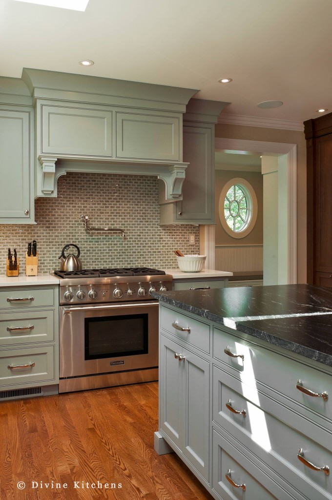 incorporate the range hood