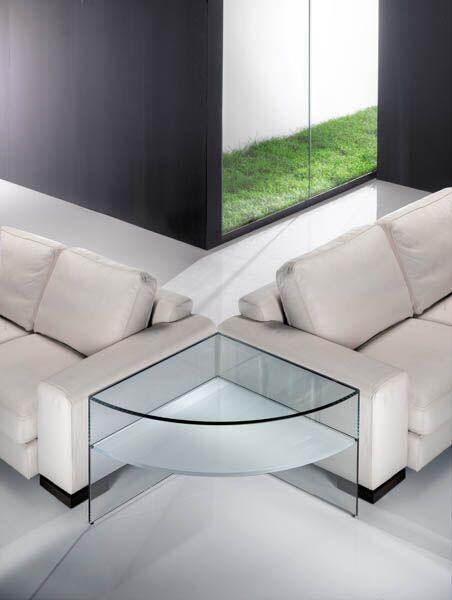 Angolo corner table by Reflex